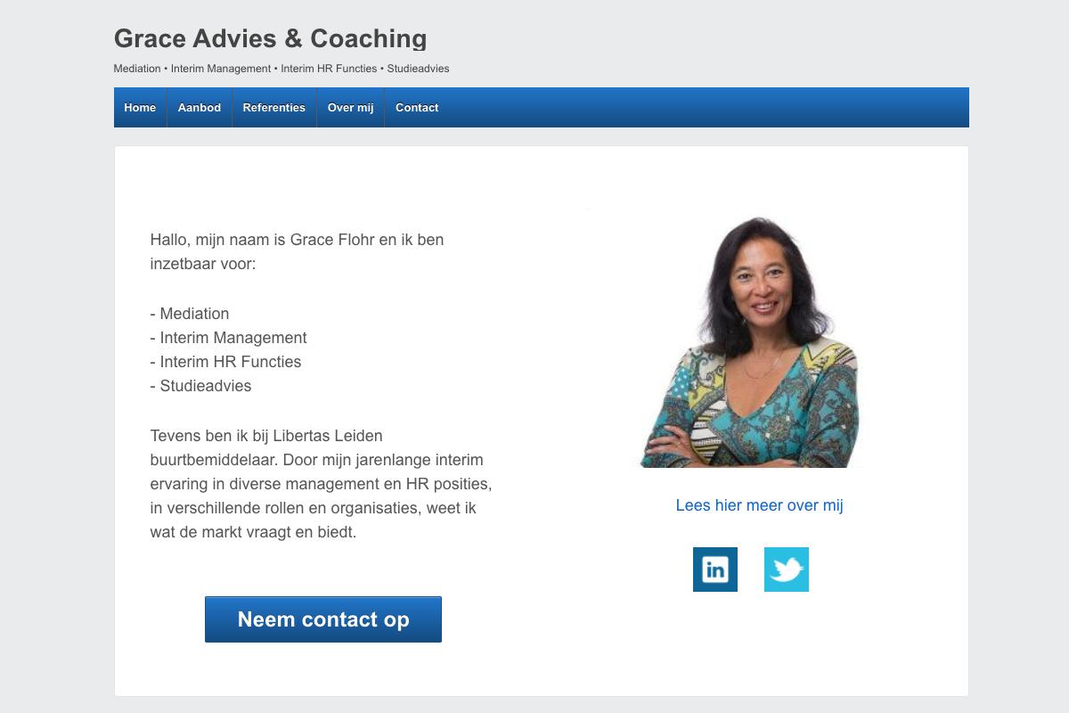 Bezoek Grace Advies & Coaching!
